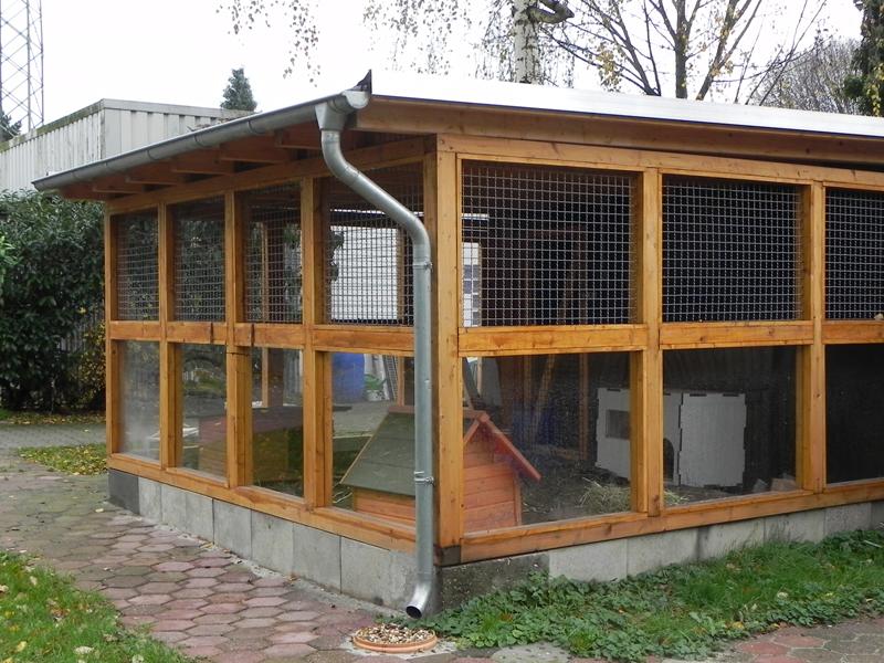 kaninchengehege tierheim hilden ev
