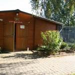 Blick Holzhaus